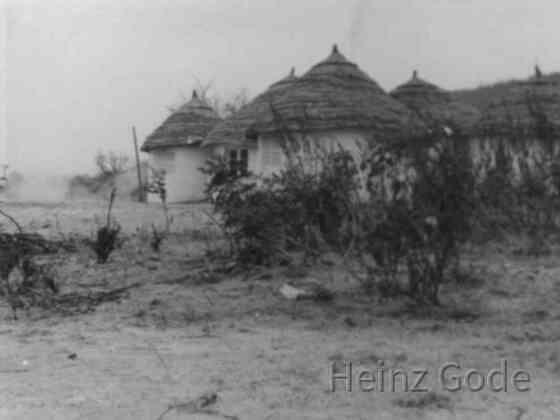 Häuser in Afrika 1960er Jahre