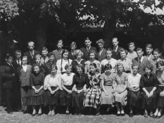 Meine Klasse 8b 1956 Zentralschule - Lehnin-Zauch Belzig