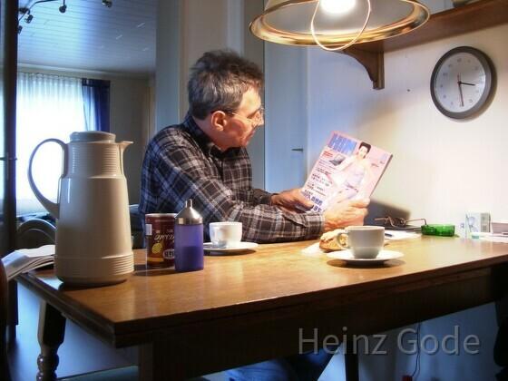Heinz Gode liest HIM