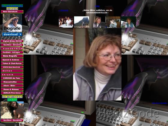 Heinz Gode - Webseite im Jahr 2003 Archiv