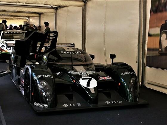 Bentley Formel 1 Rennwagen
