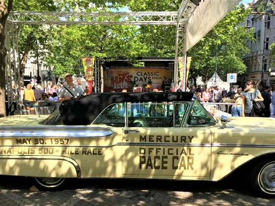 Ford Mercury Pace Car Indianapolis