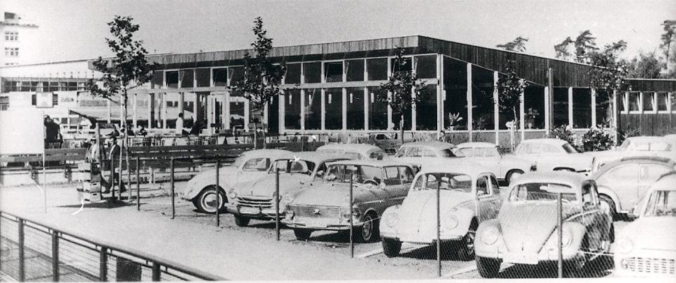 Frankfurt Flughafen – Besucherrestaurant – 1956