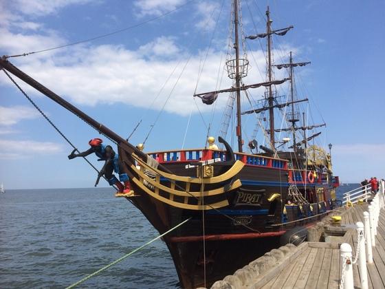 Piratenschiff - Sopot