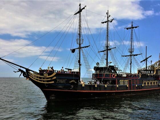 Piratenschiff - Schwarze Perle