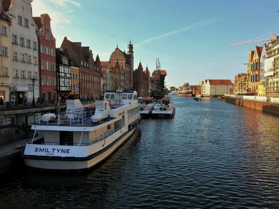 Gdańsk - An der Uferpromenade