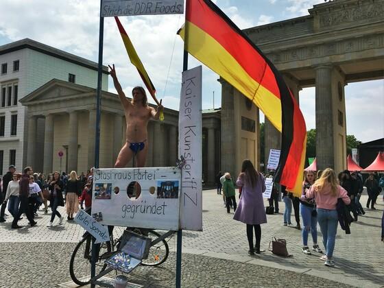 1Mai Demo - Brandenburger Tor