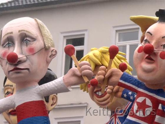 Karneval 2020 - Rosenmontagszug Köln - Auf Lügenpresse hereingefallen - Karnevalisten und die mißverstandene Weltpolitik