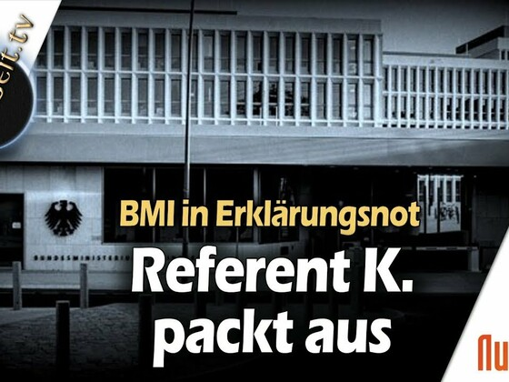 Referent K. packt aus - Andreas Beutel im Gespräch mit Robert Stein