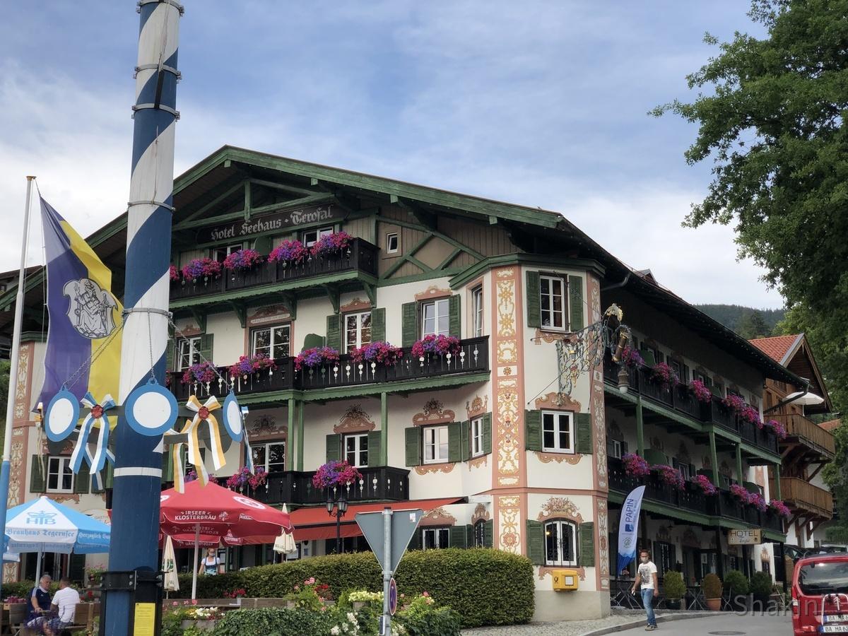 Schönes bayrisches Hotel