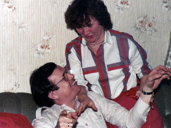 Party 1980 – Rüsselsheim – Bernhard Ackermann und Brigitte Wernecke