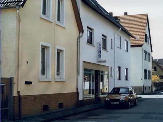 Schuhhaus Ackermann - 1992 - Rüsselsheim-Königstädten - Georg-Bärsch-Straße