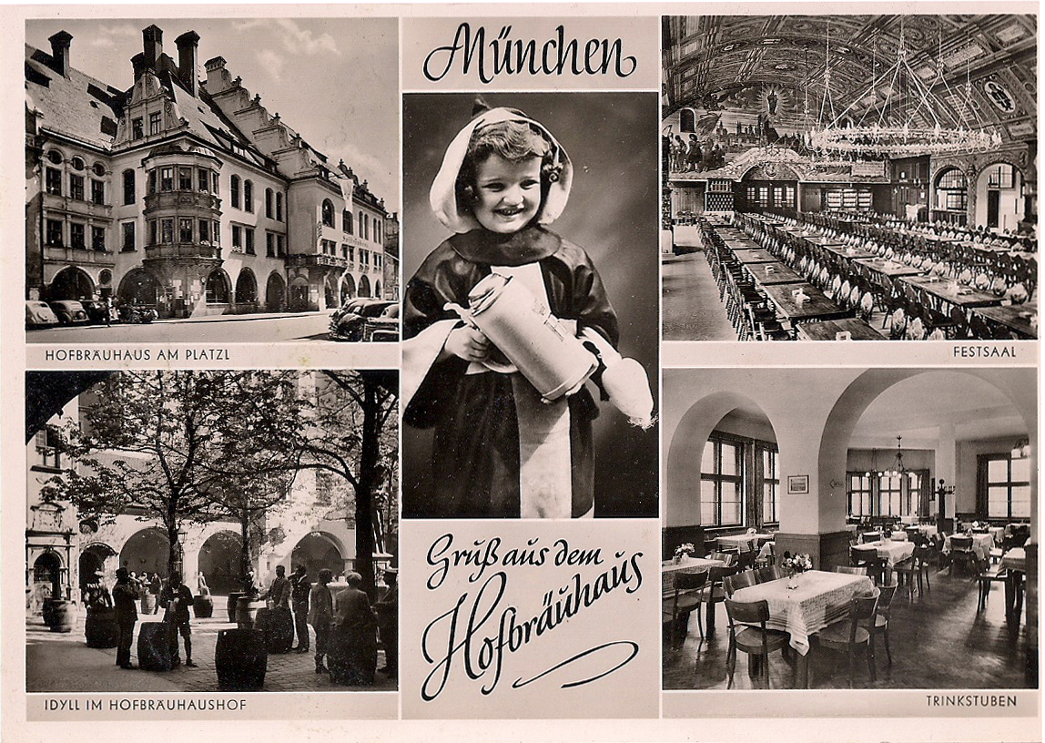 München - Hofbräuhaus - 1950er Jahre