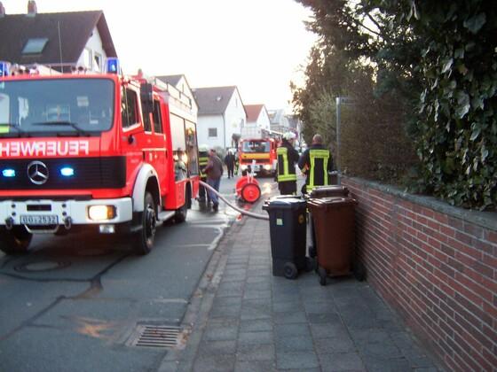 Feuer in Königstädten - Kohlseestraße - 20.03.2012 - 8