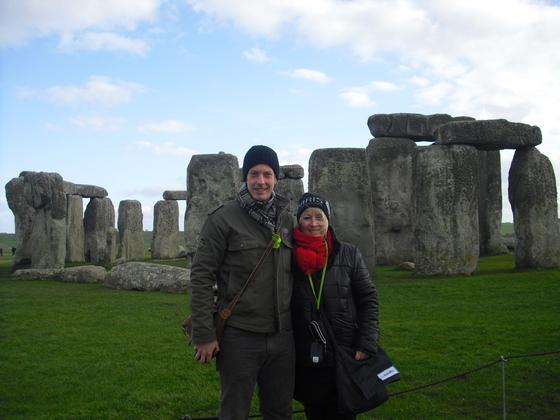 Stonehenge - Shakini mit Sohn