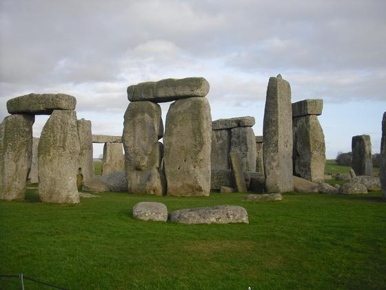 Stonehenge - Herrliche Kulisse