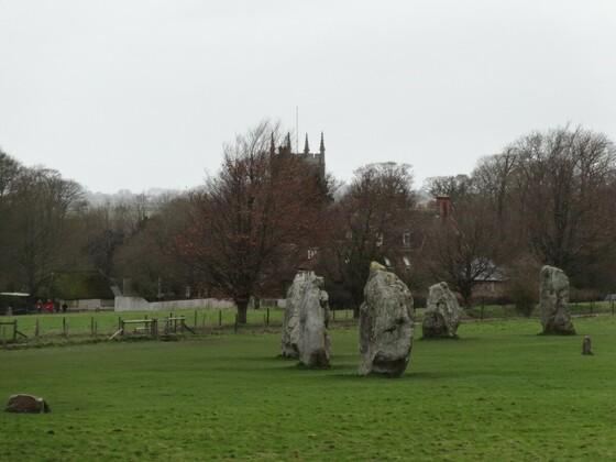 Avebury - Faszinierender Steinkreis