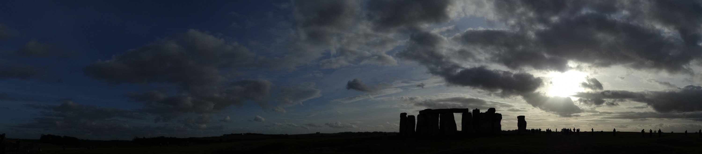 Stonehenge - Sonnenfinsternis
