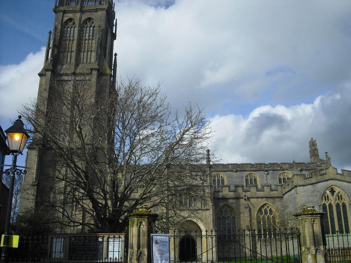 Glastonbury Abbey  - A special Church