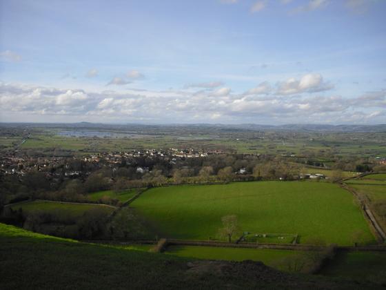 Glastonbury Tor - Schöne Landschaft - Beautiful Landscape