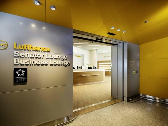 Lufthansa Senator Lounge - Lufthansa Business Lounge - Frankfurt Airport - Frankfurt Flughafen