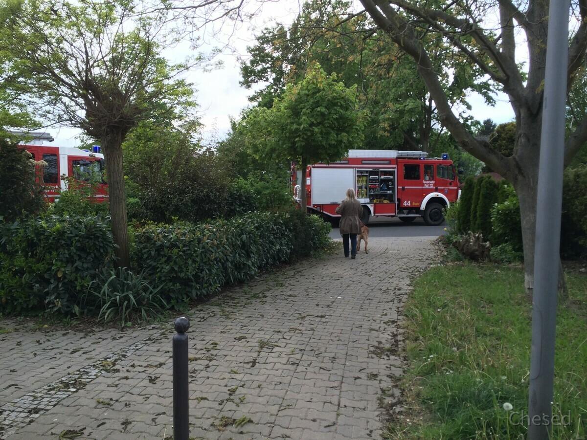 Feuerwehreinsatz - Nauheim - 2014 - Entenstraße - Am Riel