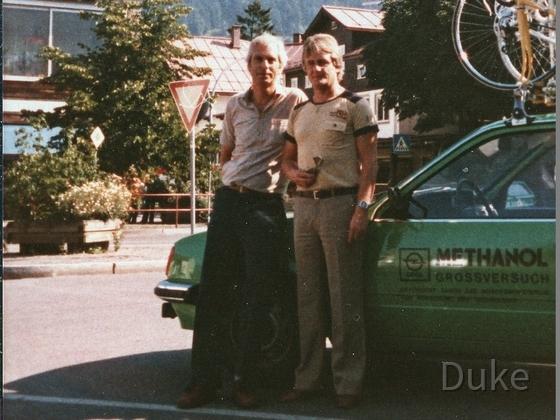Radtour um den Bodensee - Opel Methanol Großversuch