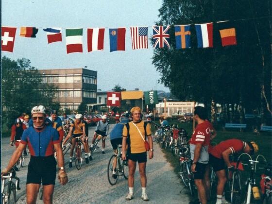 Radtour um den Bodensee - Start der Bodenseerundfahrt - 1980