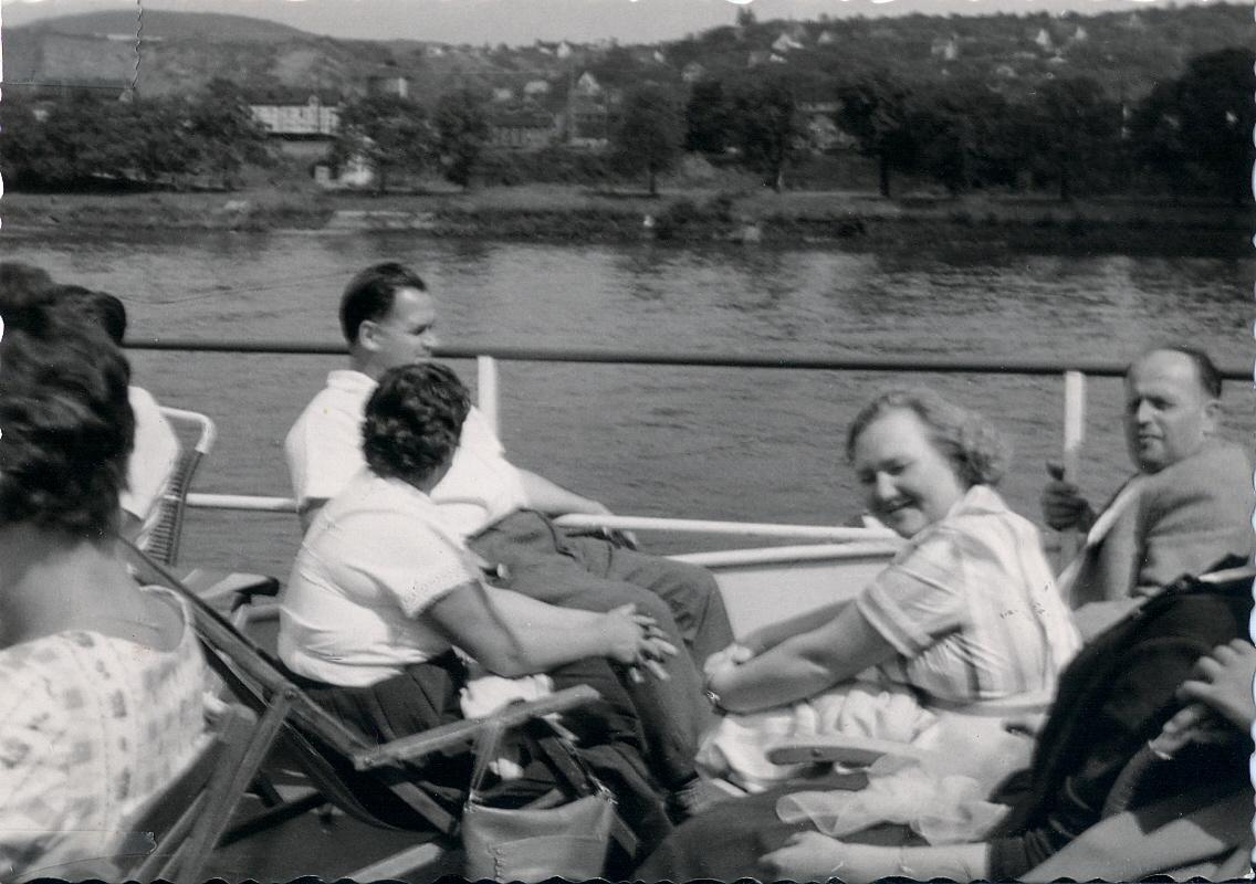 Ausflug auf dem Rhein