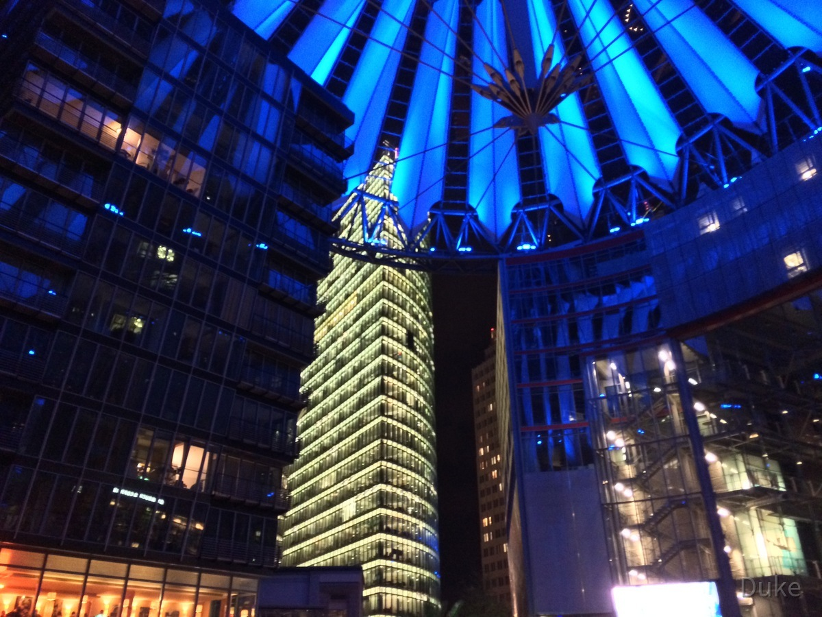 Berlin - Sony Center - Blau
