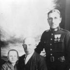 Urgroßvater Juliusz Poznański mit Sohn Włodzimierz  und Enkel Felix
