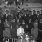 Feuerwehr Königstädten - 1956 - Feier  - Gaststätte Reinheimer