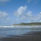 Woolacombe - Sandstrand bei Ebbe -England