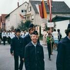 Jugendfeuerwehr Nauheim - Feuerwehrfest Königstädten - 1980