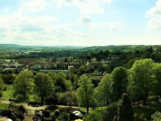 Bristol - Panorama - Cabot Tower