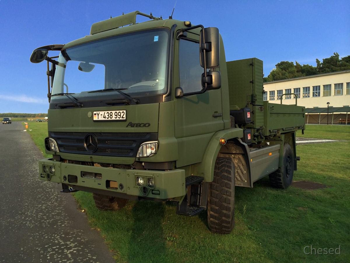 Militärfahrzeug - LKW - Bundeswehr