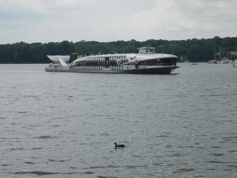 Moby Dick - Faszinierendes Berliner Binnenschiff