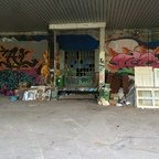 Berlin - Teufelsberg - Field Station - Kantinenlager - Graffitis - Canteen Warehouse