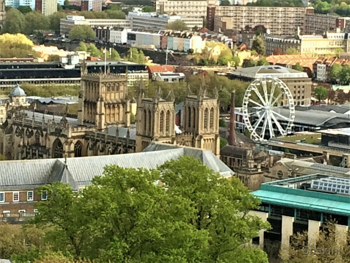 Blick auf die Bristol Kathedrale