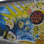 East Side Gallery - Berlin - Graffitis - Smileys
