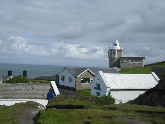 Auf den Weg zum Leuchturm - Bull Point Lighthouse - Woolacombe