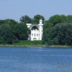 Die malerische Pfaueninsel im Wannsee