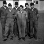 Feuerwehr Königstädten - Maschinistenlehrgang Kassel 1958 - Angetreten