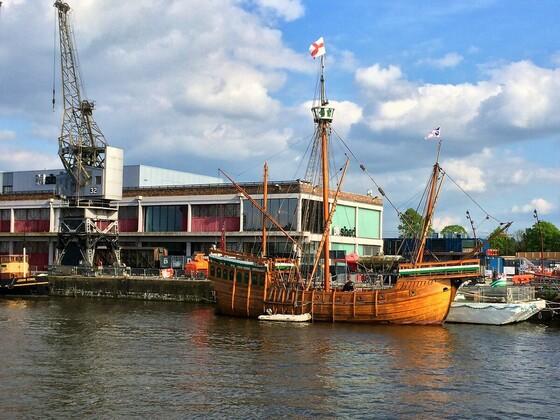 Bristol - Schiffe am Hafen