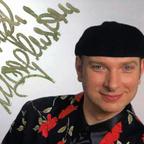 Autogrammkarte Moderator Ralph Morgenstern von Heinz Gode