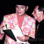 Kaffeeklatsch Moderator Ralph Morgenstern mit Heinz Gode