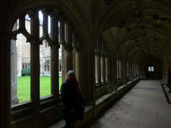 Lacock Abbey - Kreuzgänge - Filmkulisse für Harry Potter Filme