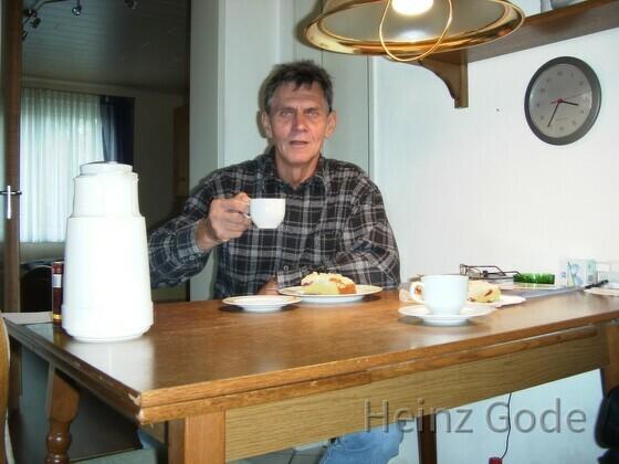 Heinz Gode sagt Prost