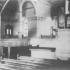 Evangelische Kirche Königstädten 1903 Innenraum