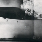 Zeppelin Katastrophe - Hindenburg LZ 129 in Lakehurst, New Jersey, am 6.5.1937